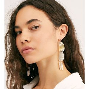 Free people harbor dangle earring